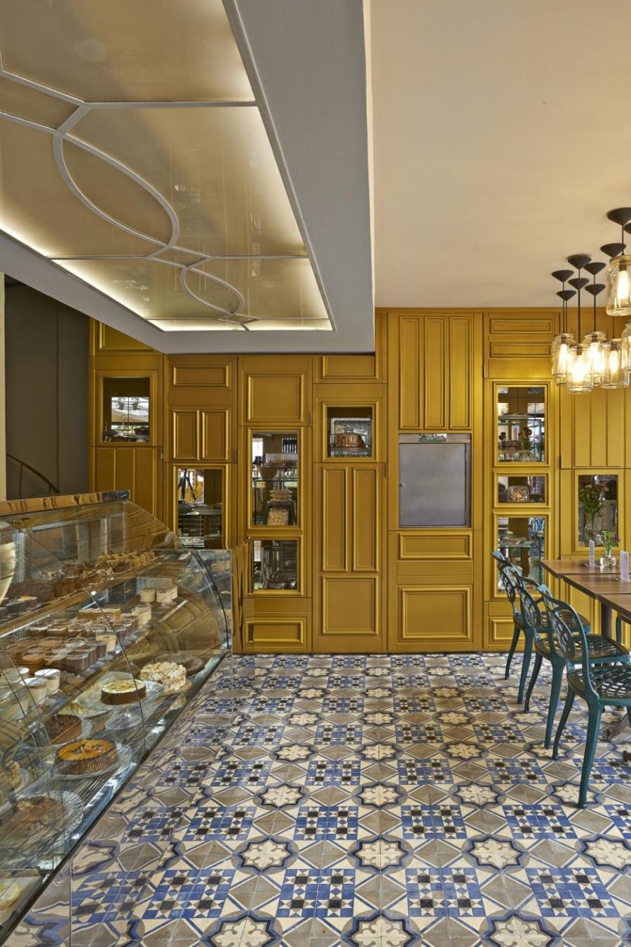 巴西la galette糕点店的空间创意设计