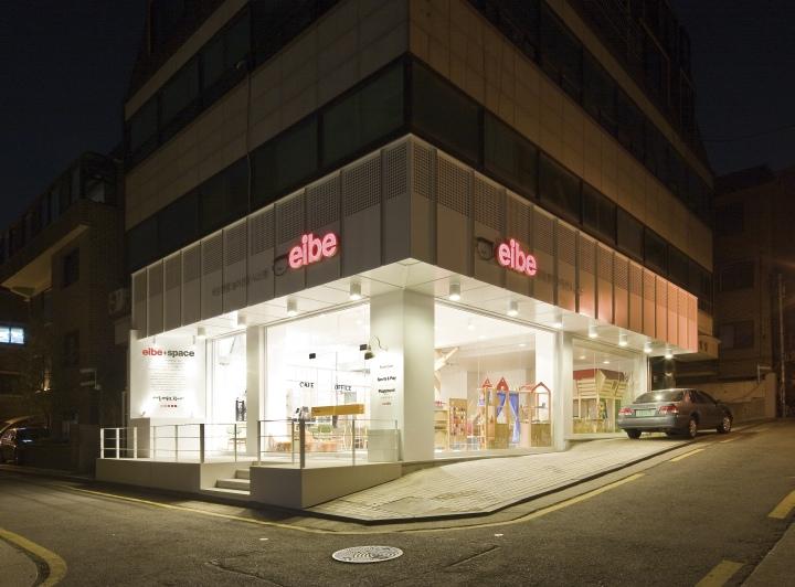 韓國首爾eibe cafe兒童咖啡館創意空間設計
