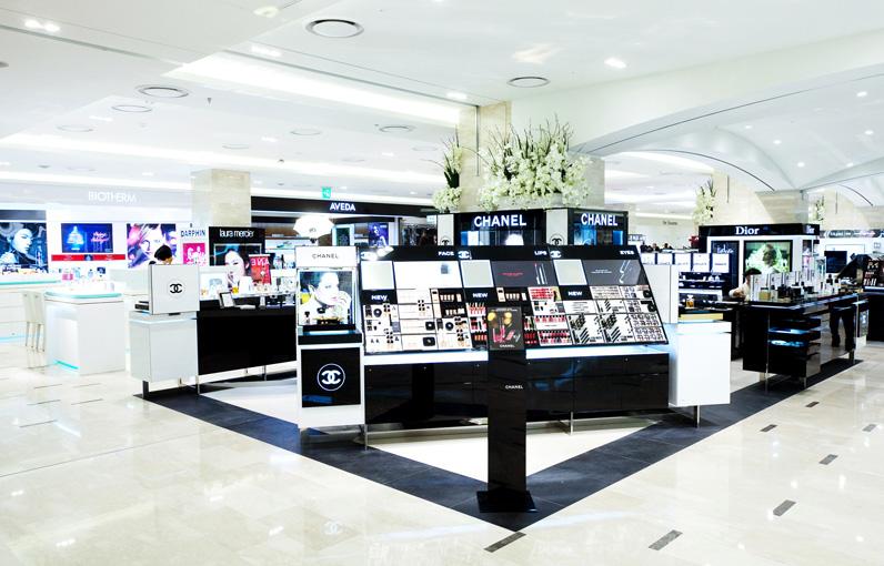 Shinsegae奢侈品百货公司创意空间设计