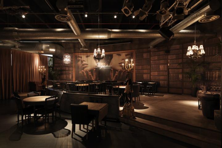 sagamor lounge酒吧餐厅创意空间设计图片