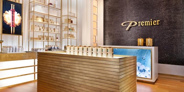 Premier死海国际化妆品品牌概念店设计 视觉设计 丁丁猫