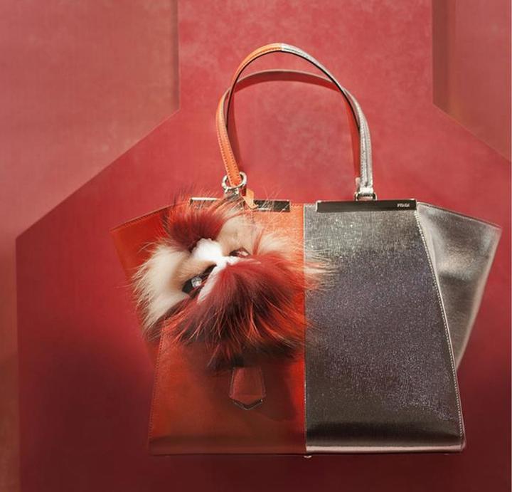 2014年fendi专卖店的橱窗设计 - 视觉设计 - 丁丁猫