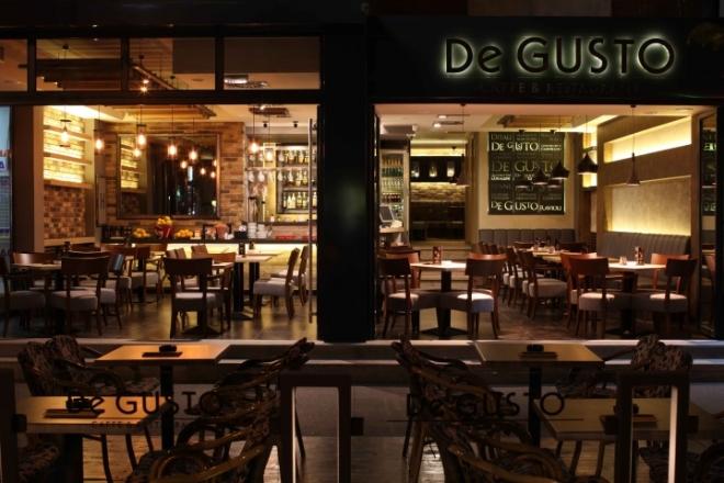 De GUSTO咖啡馆餐厅空间设计
