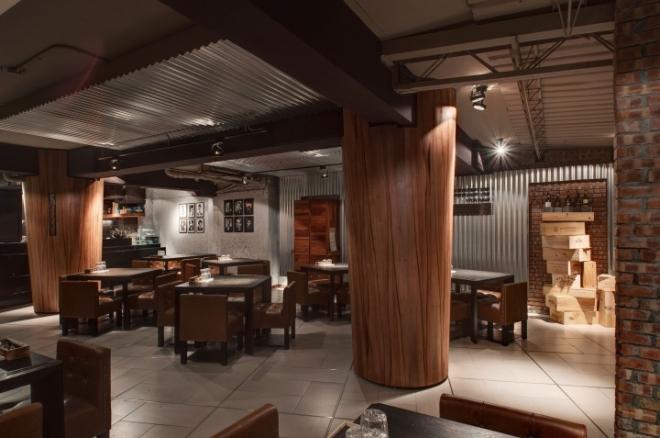 Baffi意大利饮食店空间设计