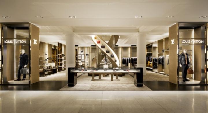 Louis Vuitton专卖店空间设计