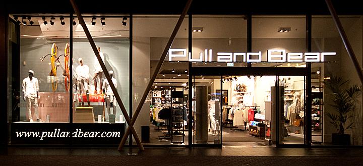 Pull & Bear 2014春季橱窗设计