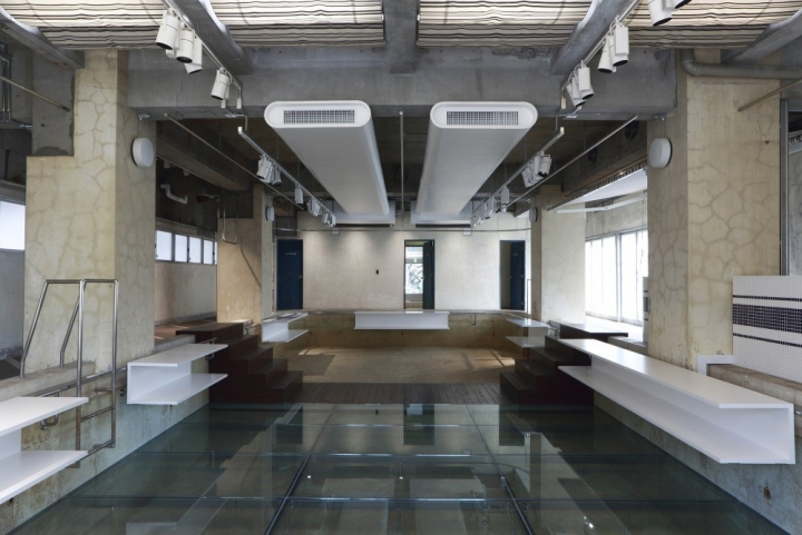 the POOL Aoyama 概念店空间设计