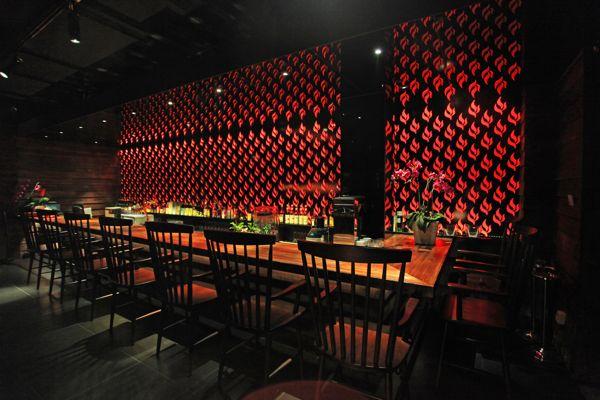 EN SHANGHAI日式餐厅空间设计