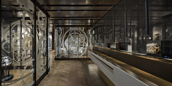 Erwin Sattler精品商店空间设计