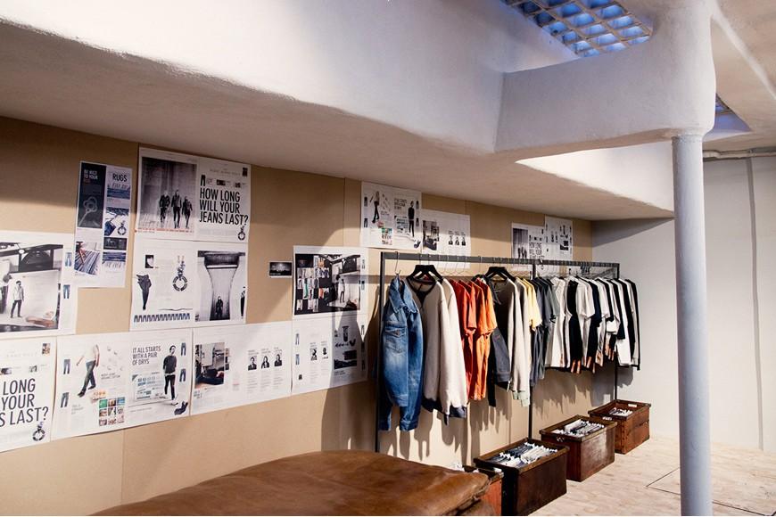 nudie jeans概念店空间设计图片