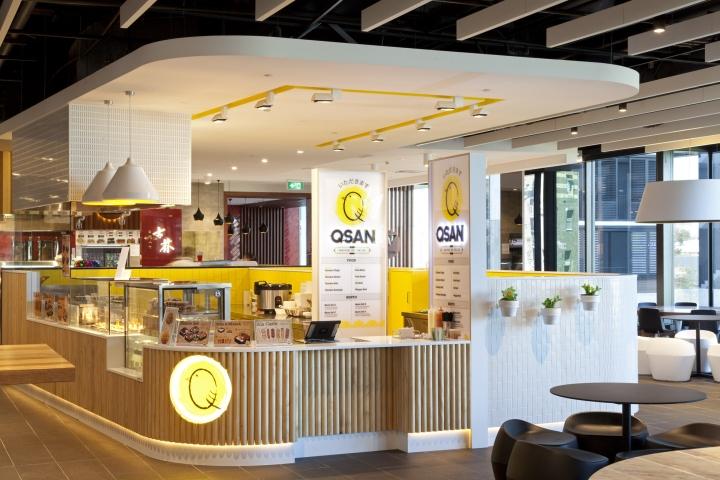 Qsan日式烤串便捷店空间设计