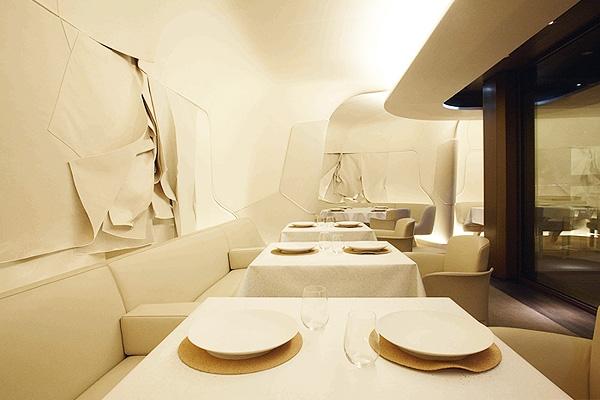 白云布藝餐廳創意空間設計