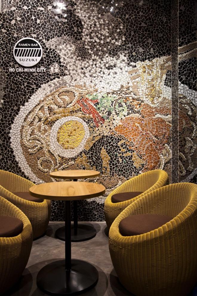 越南创意拉面馆空间设计