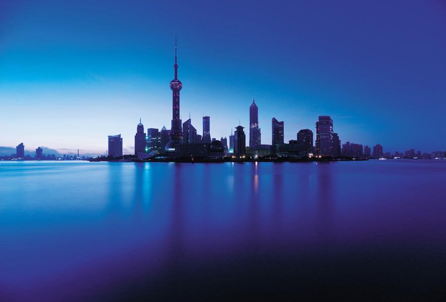 上海外滩陆家嘴全景建筑 - 全景动态 - 丁丁猫