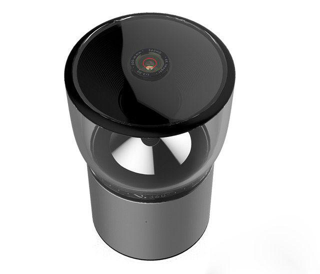 新奇配件 无需拼接的全景摄像机V.360